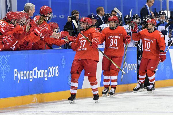 Олимпиада 2018. Хоккей. Женщины. Матч Россия - Финляндия
