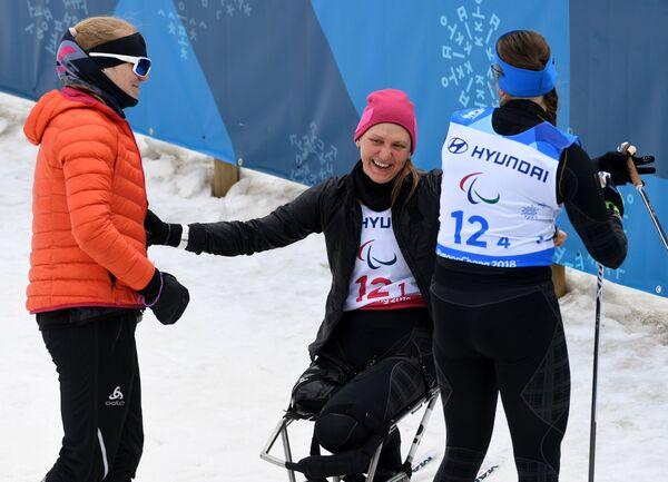 Екатерина Румянцева, Наталья Кочерова и Наталья Братюк (слева направо)
