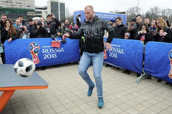 Исландский футболист Эйдур Гудьонсен