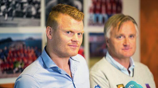 Экс-футболист сборной Норвегии, победитель Лиги чемпионов 2005 года в составе Ливерпуля Йон Арне Риисе