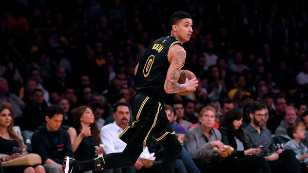 Форвард клуба НБА Лос-Анджелес Лейкерс Кайл Кузма