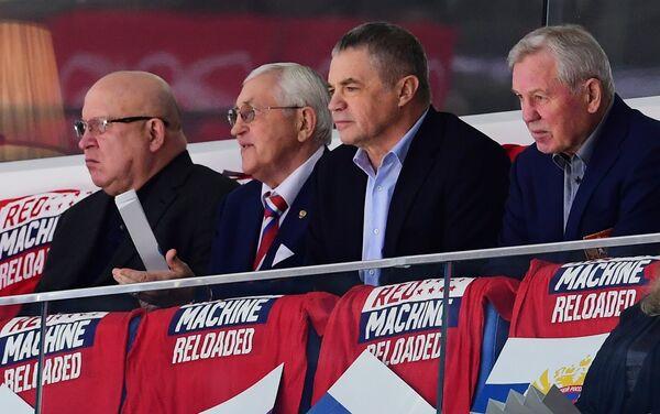 Валерий Шанцев, Борис Михайлов, Александр Медведев и Борис Майоров (слева направо)