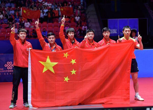 Мужская сборная Китая по настольному теннису