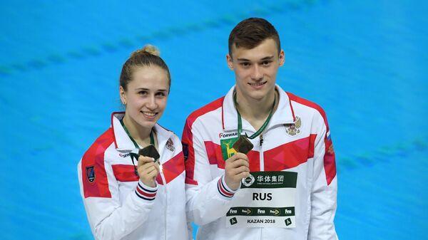 Юлия Тимошинина и Никита Шлейхер