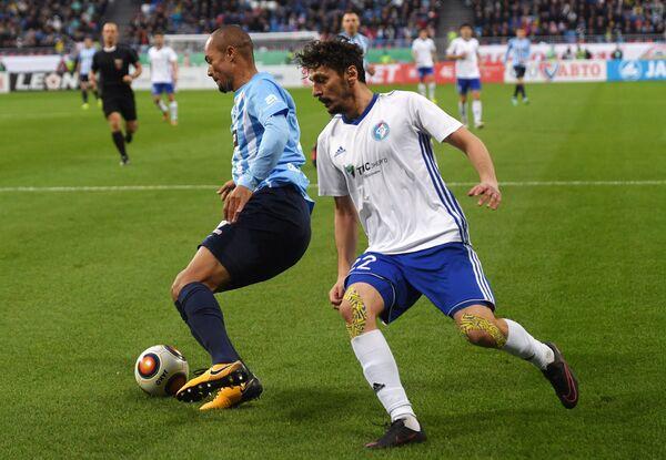 Футбол. Первый официальный матч на стадионе Самара Арена
