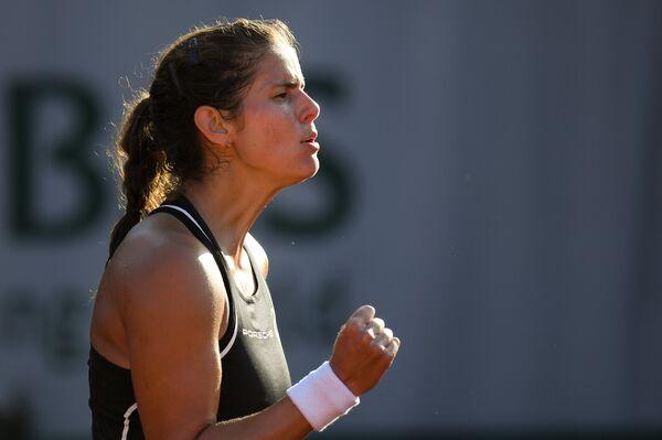 Немецкая теннисистка Юлия Гергес