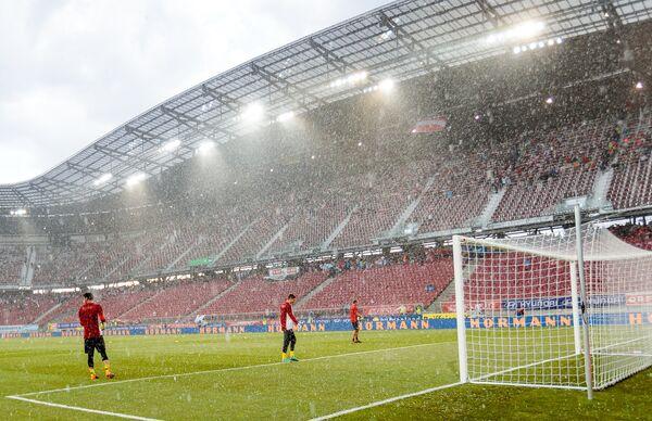 Дождь в Клагенфурте