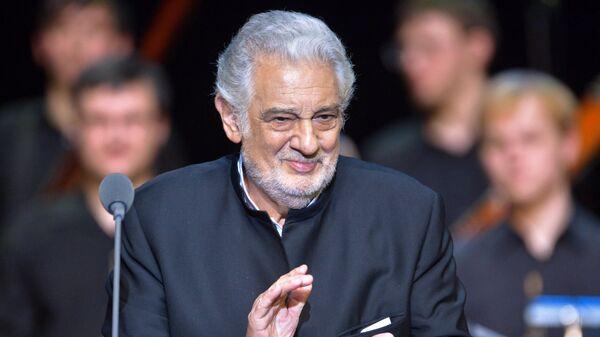 Концерт испанского оперного певца Пласидо Доминго в Москве