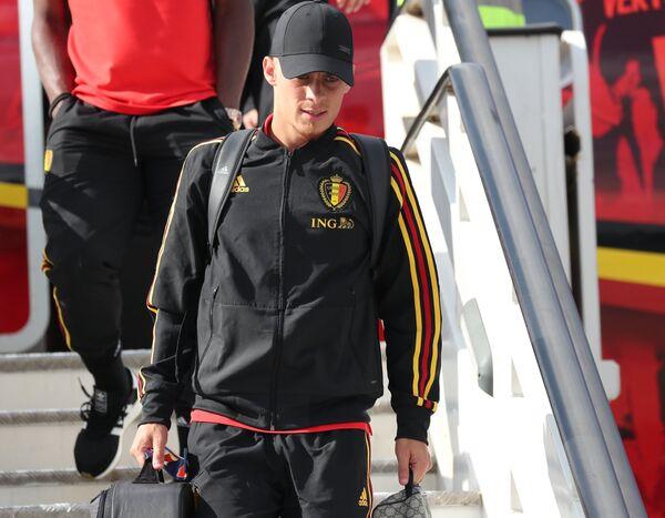 Игрок сборной Бельгии Торген Азар