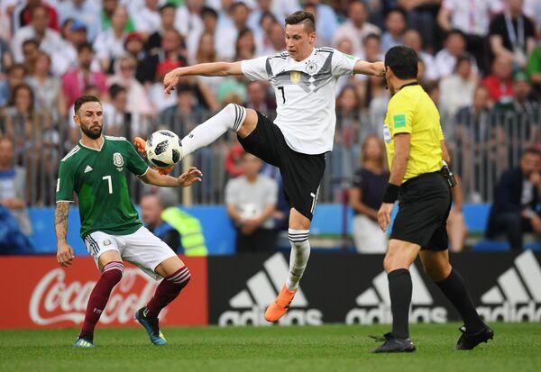Полузащитник сборной Германии Юлиан Дракслер