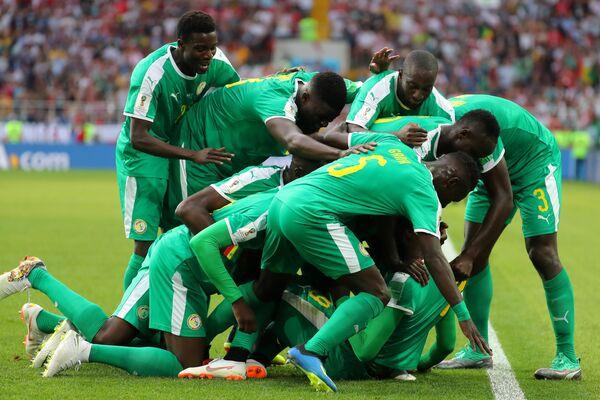 Игроки сборной Сенегала