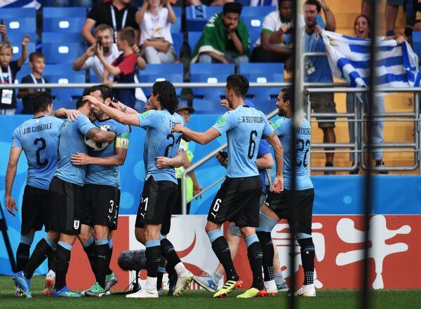 Футболисты сборной Уругвая