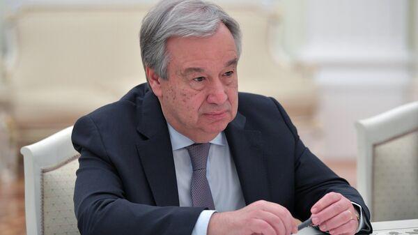 20 июня 2018. Генеральный секретарь ООН Антониу Гутерреш