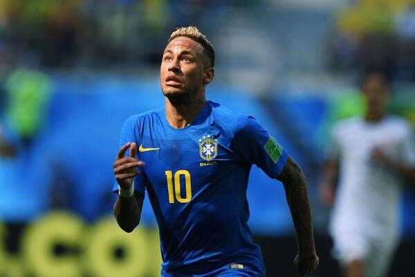 Бразильский нападающий Неймар