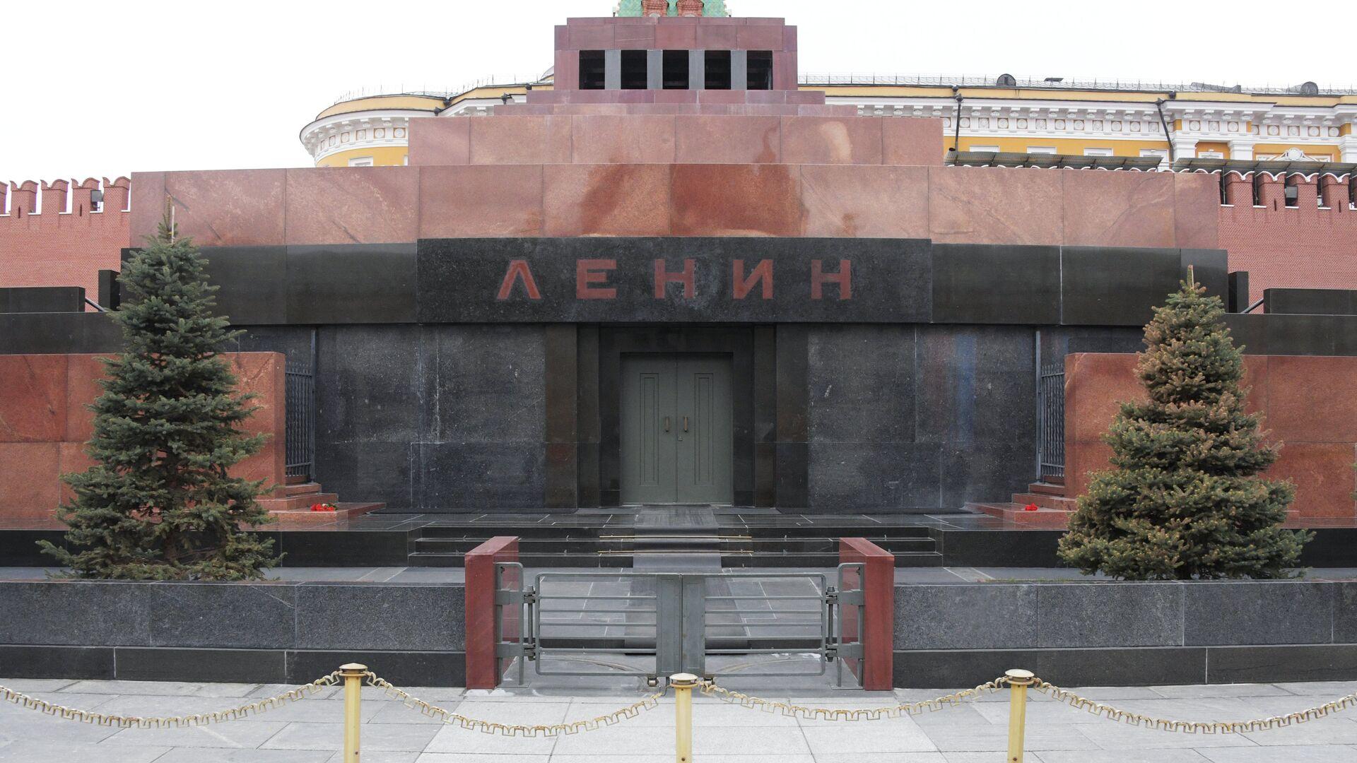 Мавзолей В.И. Ленина на Красной площади после ремонта. - РИА Новости, 1920, 12.09.2020