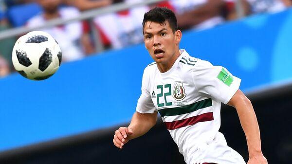 Нападающий сборной Мексики Ирвинг Лосано