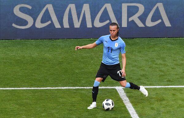Вингер сборной Уругвая Диего Лаксальт