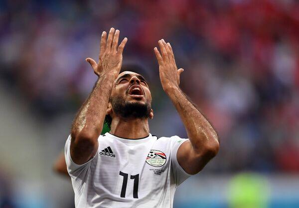 Полузащитник сборной Египта Кахраба