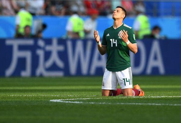 Мексиканский нападающий Хавьер Эрнандес