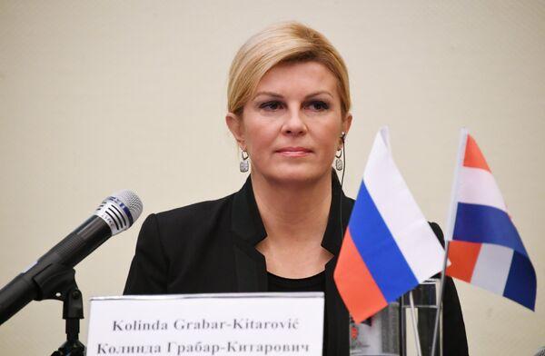 Президент Республики Хорватия Колинда Грабар-Китарович