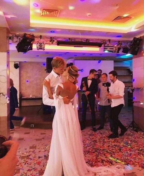 Свадьба фигуристки Анны Погорилой