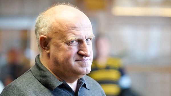 Главный тренер сборной России по велоспорту на треке Сергей Ковпанец