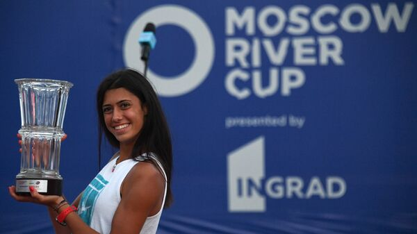 Теннис. WTA MOSCOW RIVER CUP. Финалы