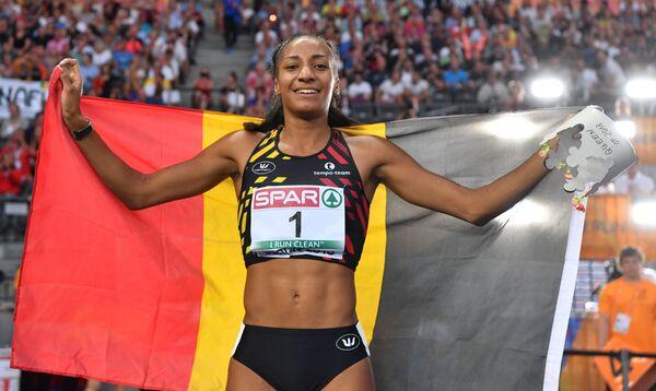 Бельгийская легкоатлетка Нафиссату Тиам