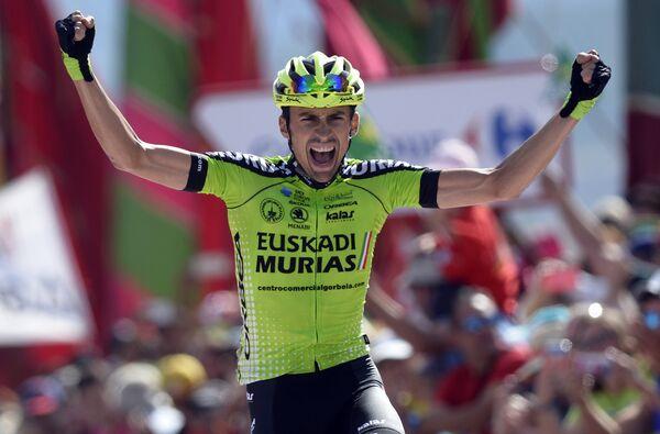 Испанский велогонщик Оскар Родригес