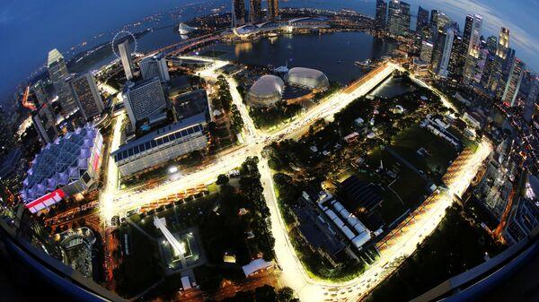 Трасса Марина Бэй на Гран-при Сингапура Формулы-1