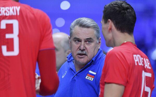 Главный тренер сборной России Сергей Шляпников