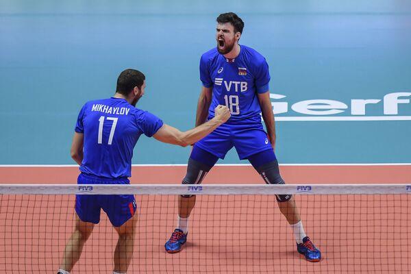 Максим Михайлов (слева) и Егор Клюка
