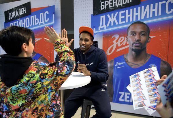 Игрок баскетбольного клуба Зенит Брендон Дженнингс