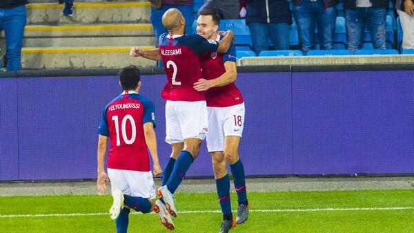 Футболисты сборной Норвегии