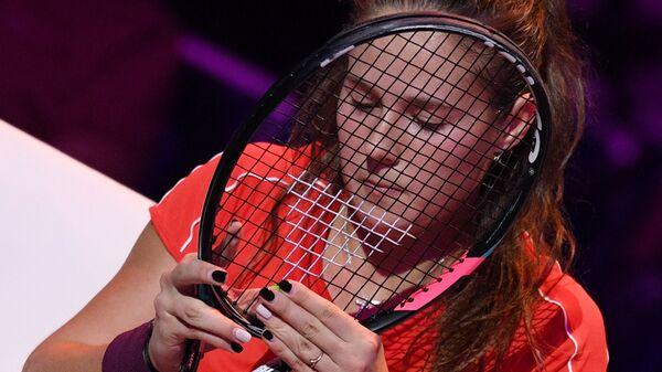 Дарья Касаткина во время финала ВТБ Кубка Кремля