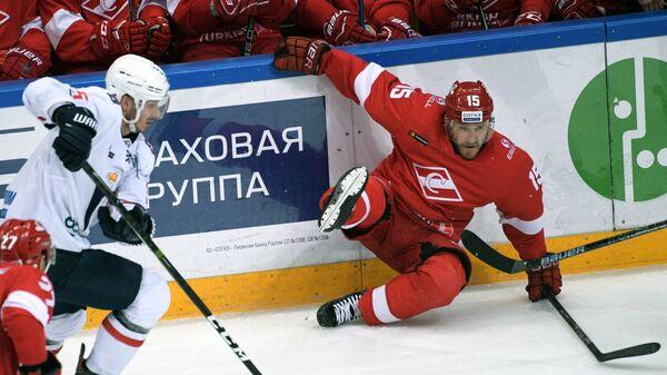 Хоккей. КХЛ. Матч Спартак - Слован