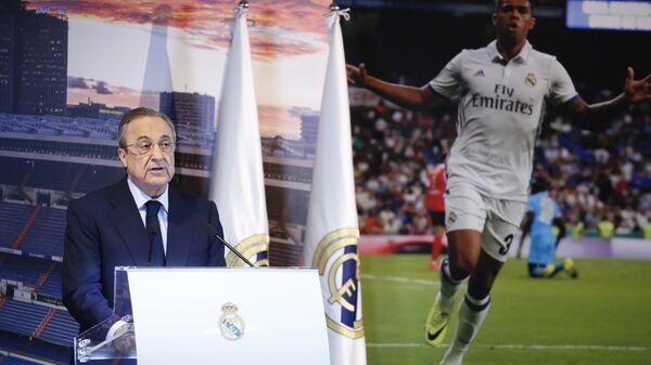 Президент мадридского Реала Флорентино Перес