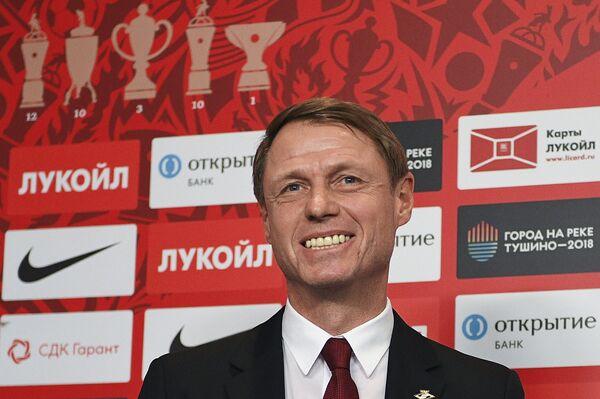 Главный тренер Спартака Олег Кононов