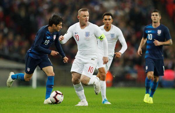 Уэйн Руни в прощальном матче за сборную Англии