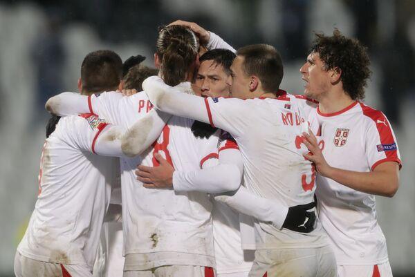 Игроки сборной Сербии по футболу