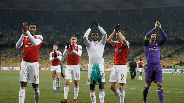 Футболисты Арсенала