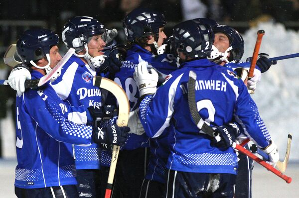 Хоккеисты казанского Динамо