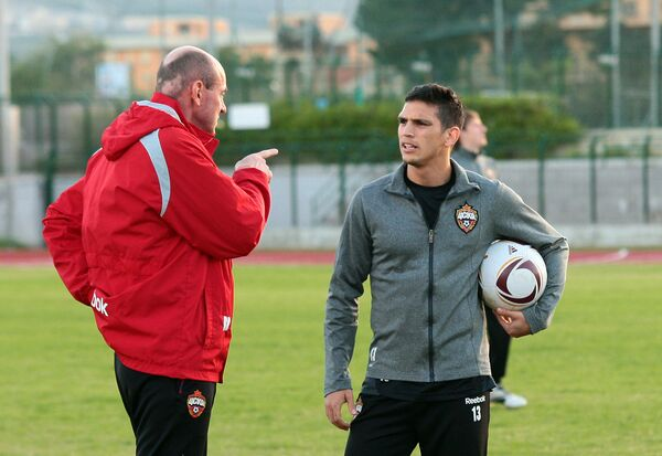 Виктор Онопко (слева) и Марк Гонсалес