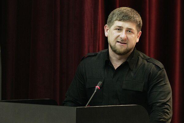 Визит главы МВД России Р.Нургалиева в Грозный