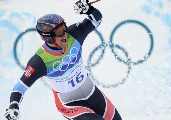 Олимпиада-2010. Горные лыжи. Мужчины. Скоростной спуск