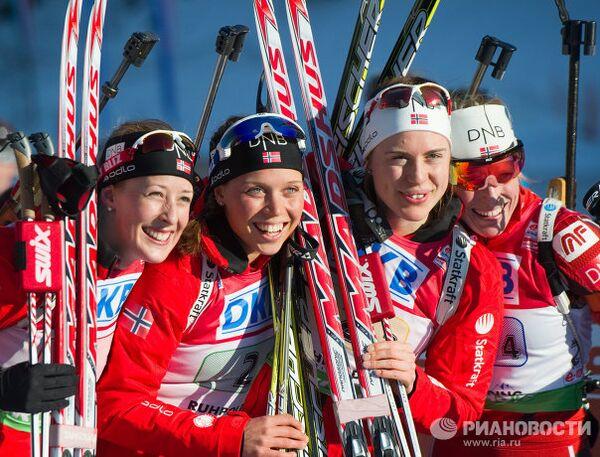 Сборная Норвегии по биатлону