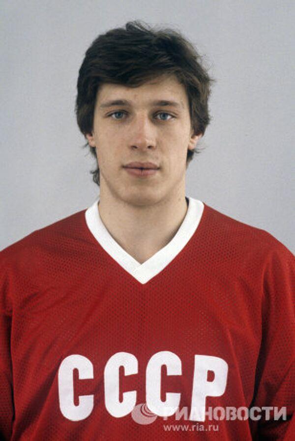 Хоккеист Дмитрий Миронов