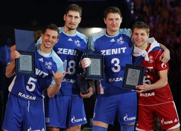 Волейболисты Зенита