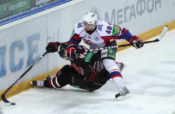 Хоккей. КХЛ. Матч Авангард - Металлург (Магнитогорск)
