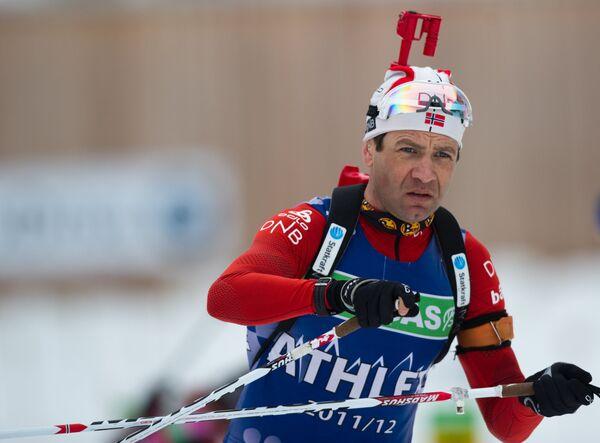 Норвежеский биатлонист Уле Эйнар Бьорндален